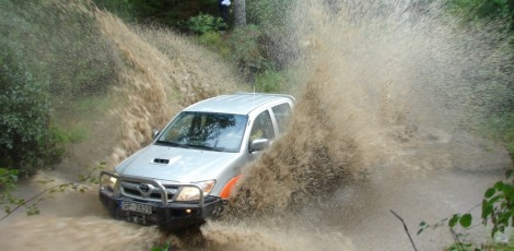 Water crossing | 4 x 4 Off Road | Day Activities | The Weekend In Tallinn