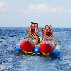 Fun riding   Banana Boat Ride   Day Activities   The Weekend In Tallinn