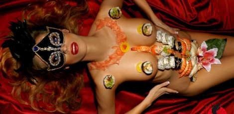 Nyotaimori Tradition And Meaning | Dinner On A Woman | Night Activities | The Weekend In Tallinn