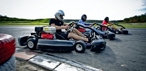 Return Transfers | Outdoor Go Karting | Day Activities | The Weekend In Tallinn