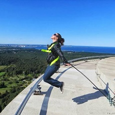 Conquer your fear | Rappelling In Tallinn | Day Activities | The Weekend In Tallinn