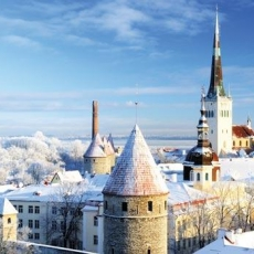 Is Estonia a cold country?
