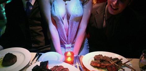 Steak and Stripp dinner | Steaks And Strippers Weekend | Packages | The Weekend In Tallinn